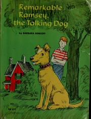 Cover of: Remarkable Ramsey, the talking dog | Barbara Rinkoff