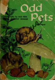 Cover of: Odd pets