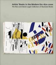 Cover of: Artists' Books in the Modern Era 1870-2000