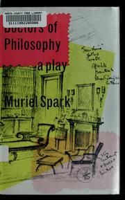 Cover of: Doctors of philosophy