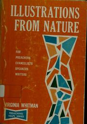 Cover of: Illustrations from nature | Virginia Whitman