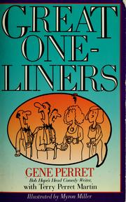 Cover of: Great one-liners | Gene Perret