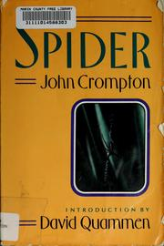 Cover of: The spider | John Crompton