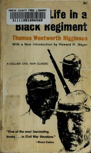 Cover of: Army life in a black regiment | Thomas Wentworth Higginson