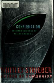 Cover of: Confirmation