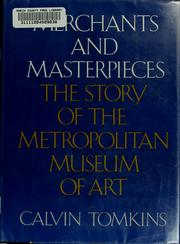Cover of: Merchants and masterpieces