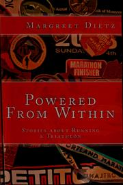 Cover of: Powered from within | Margreet Dietz