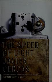 Cover of: The speed of light