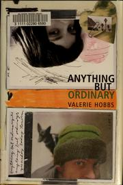 Cover of: Anything but ordinary