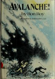 Cover of: Avalanche! | Ron Roy