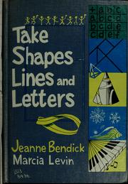 Cover of: Take shapes, lines, and letters