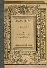Cover of: Phaedo
