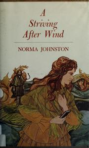 Cover of: A striving after wind