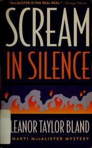 Cover of: Scream in silence | Eleanor Taylor Bland