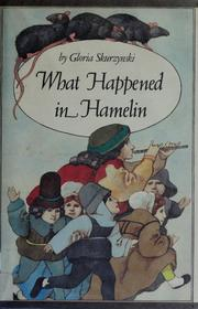 Cover of: What happened in Hamelin | Gloria Skurzynski