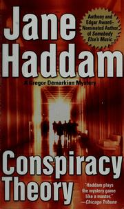 Cover of: Conspiracy theory