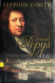 Cover of: Samuel Pepys