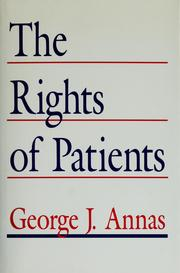 Cover of: The rights of patients