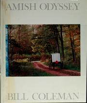 Cover of: Amish odyssey | Bill Coleman