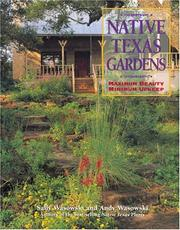 Cover of: Native Texas Gardens