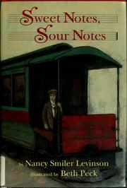 Cover of: Sweet notes, sour notes