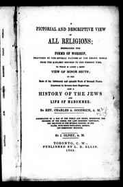 Cover of: A pictorial and descriptive view of all religions
