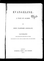 Evangeline by Henry Wadsworth Longfellow