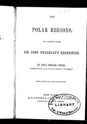 Cover of: The polar regions, or, A search after Sir John Franklin's expedition