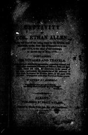 Cover of: A narrative of the captivity of Col. Ethan Allen