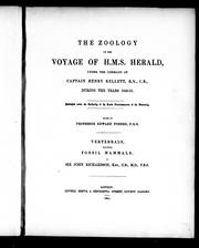 Cover of: The zoology of the voyage of H.M.S. Herald