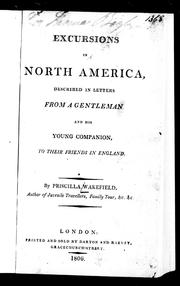 Cover of: Excursions in North America