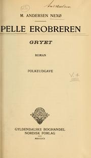 Cover of: Pelle Erobreren