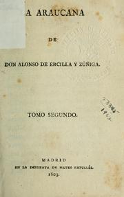 Cover of: La Araucana