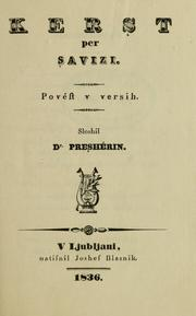 Cover of: Kerşt per Şavizi