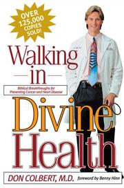 Cover of: Walking in divine health