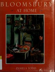 Cover of: Bloomsbury at home
