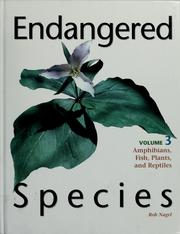 Cover of: Endangered species | Rob Nagel
