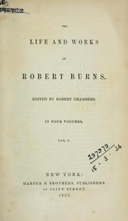 Cover of: Life and works | Robert Burns