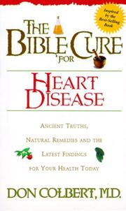 Cover of: The Bible Cure for Heart Disease (Health and Fitness)
