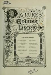 Cover of: Pictures from English literature by John Francis Waller