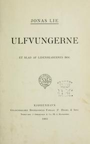 Cover of: Ulfvungerne