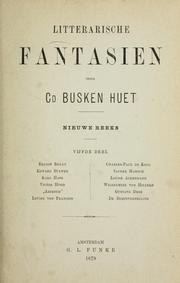 Cover of: Litterarische Fantasien
