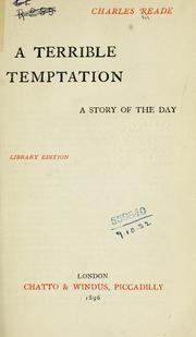 Cover of: A terrible temptation
