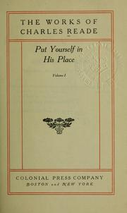 Cover of: Put yourself in his place
