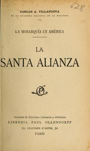 Cover of: La Santa alianza