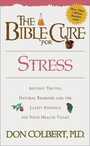 Cover of: The Bible Cure for Stress