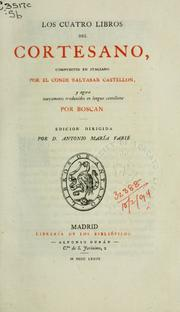 Cover of: Los cuatro libros del Cortesano