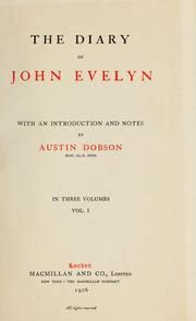 Cover of: The diary