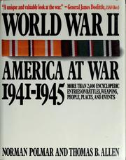 Cover of: World War II