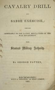 Cover of: Cavalry drill and sabre exercise